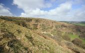 stock photo of punchbowl  - The Punchbowl on Winsford Hill Exmoor, Somerset