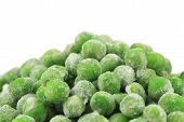 picture of peas  - Frozen green peas - JPG