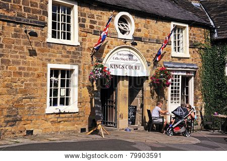Kings Court Coffee Shop, Bakewell.