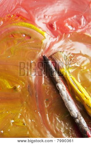 Paint And Brushes