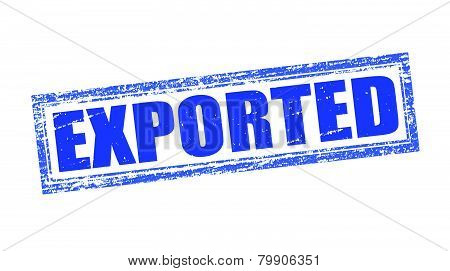Exported