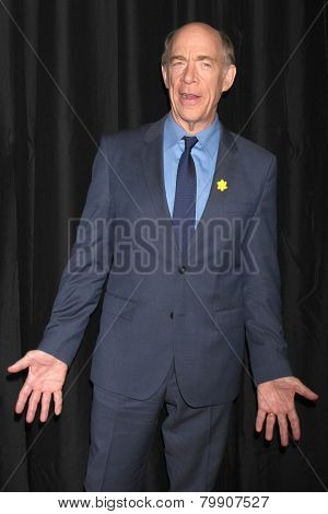 LOS ANGELES - JAN 10:  J.K. Simmons at the 40th Annual Los Angeles Film Critics Association Awards at a Intercontinental Century City on January 10, 2015 in Century City, CA