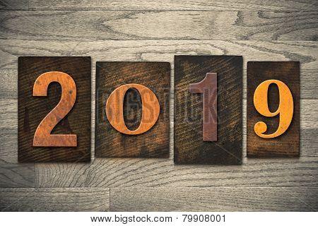 2019 Wood Letterpress Concept