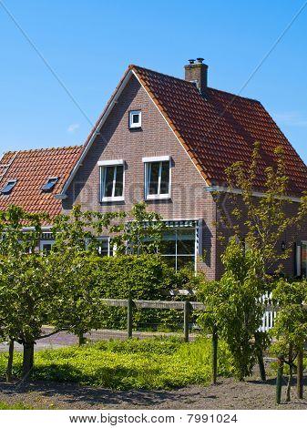 Scenics Cottages In Marken, Netherlands