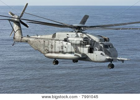 Ch-53E Marine Corps Helicopter