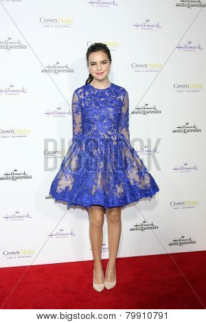 LOS ANGELES - JAN 8:  Bailee Madison at the Hallmark TCA Party at a Tournament House on January 8, 2014 in Pasadena, CA