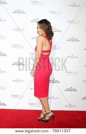LOS ANGELES - JAN 8:  Lacey Chabert at the Hallmark TCA Party at a Tournament House on January 8, 2014 in Pasadena, CA