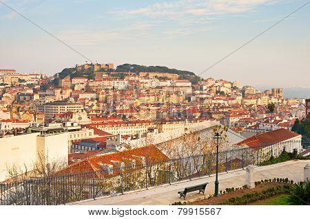 Lisbon Overlooking