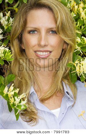 Blonde Model Portrait