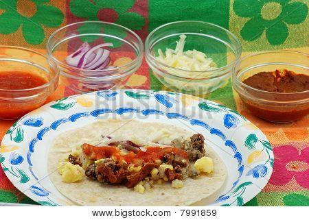 Spicy Burrito