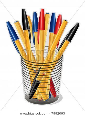Tinte Kugelschreiber