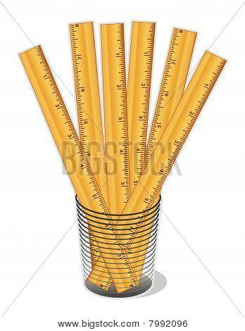 Wood Rulers