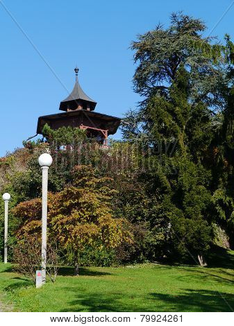 The Chinese Pavillion in Graz