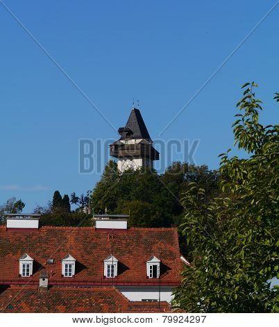 The bell tower of Graz
