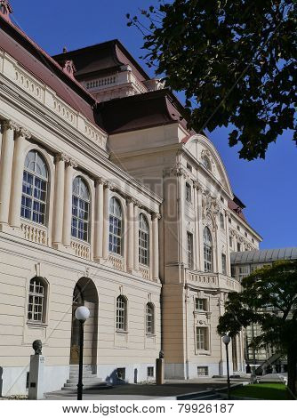 The opera of Graz in Austria