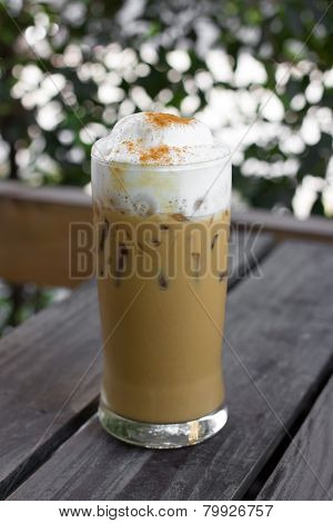 Iced Cappuccino (ice Coffee)