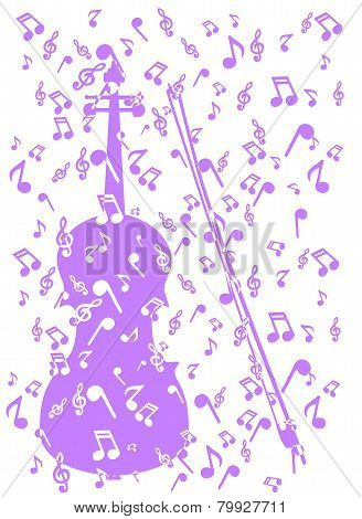 Violin In Notes