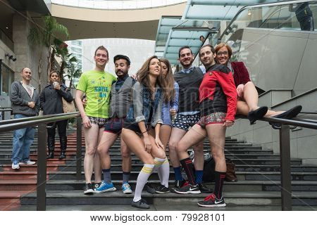 People Without Pants In Hollywood During The