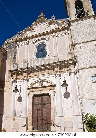 Church of Carmine. Torremaggiore. Puglia. Italy.