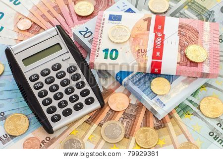 Calculator With Euro Currency