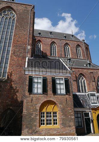A church in Groningen