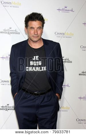 LOS ANGELES - JAN 8:  William Baldwin at the Hallmark TCA Party at a Tournament House on January 8, 2014 in Pasadena, CA