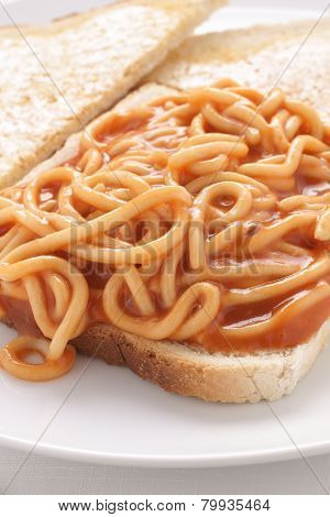 Spaghetti On Toast