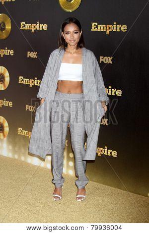 LOS ANGELES - JAN 6:  Karrueche Tran at the FOX TV