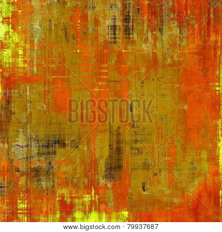 Old antique texture - perfect background with space for your text or image. With different color patterns: brown; red (orange); yellow (beige)