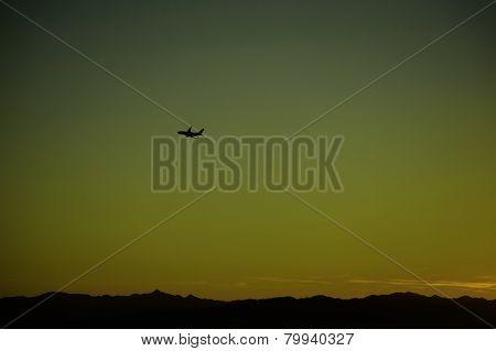 Jet Into The Sunrise