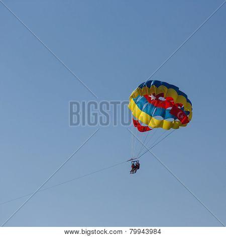 Flight On A Parachute