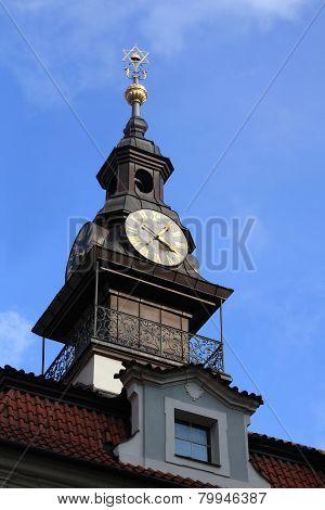 Jewish Town Hall Clocks
