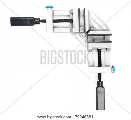 Clamps  isolated on white