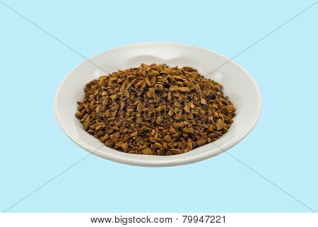 Saucer With Soluble Coffee