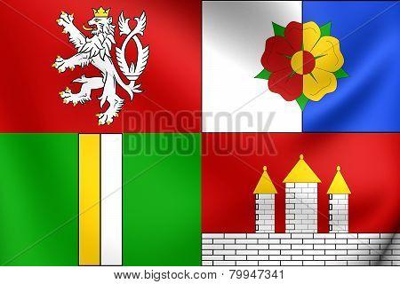 Flag Of South Bohemian Region