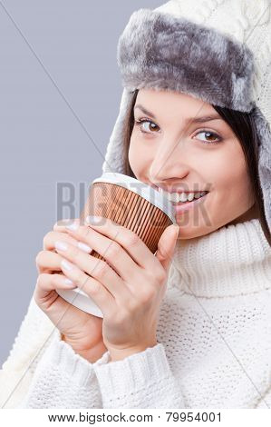 It Is Time For Warm Drinks.