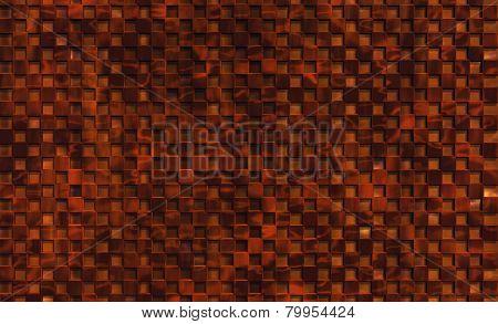 Walnut Checkered Background
