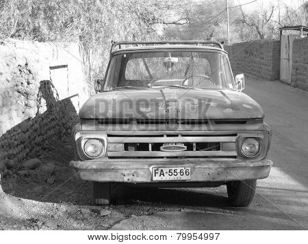 Rusted Ford Truck