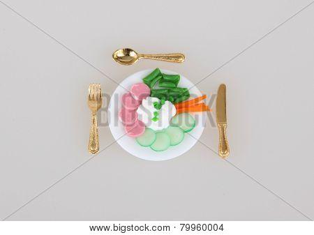 Diet portion