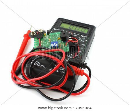 Digital Multimeter And Electronics Ultrasonic Repellent