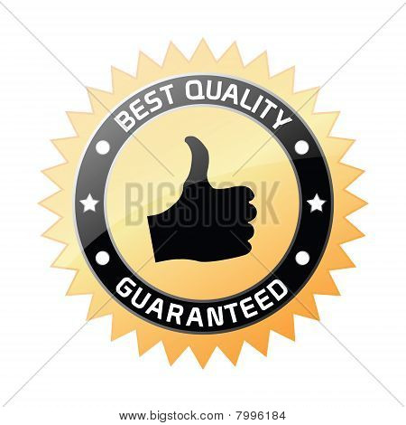 Best Quality Guaranteed Label
