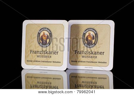 Beermats From Franziskaner Beer.