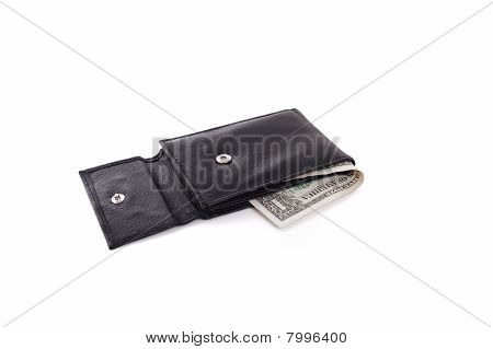Wallet with USA dollar