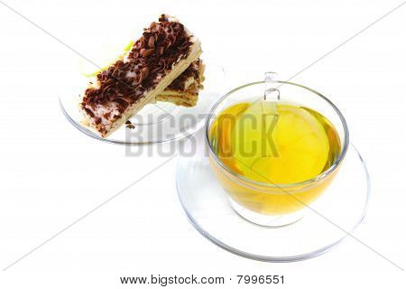 Black Tea And Lemon Cake