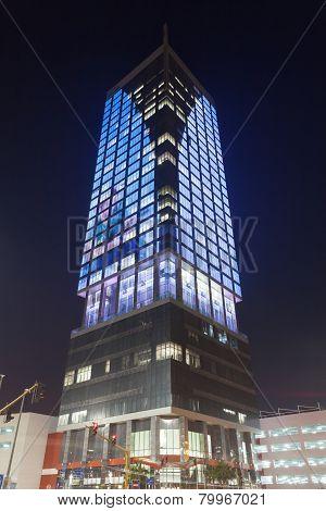 Wataniya Building in Kuwait