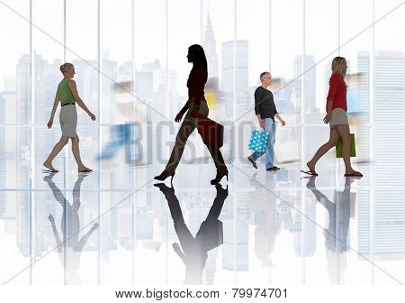 Shopping Purchase Retail Customer Consumer Sale Concept