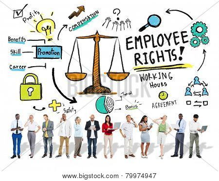 Employee Rights Employment Equality Job Business Technology Concept