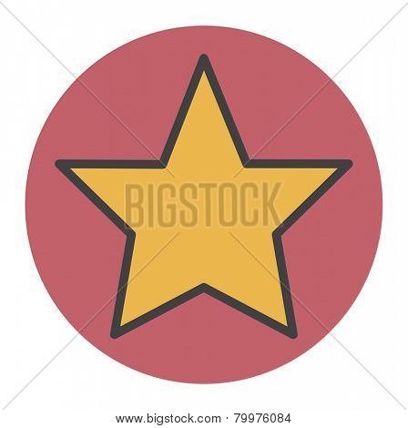 Star Shape Success Superstar Victory Winning Vector Concept