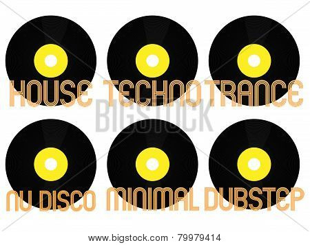 Electronic Music Genres Vinyl 3