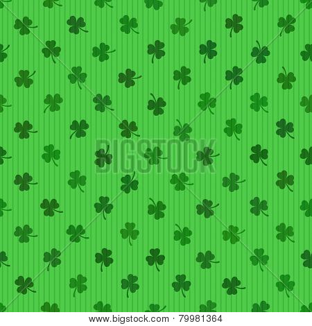 Clover leaf Seamless vector background